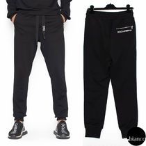 Dolce & Gabbana Sweat Plain Joggers & Sweatpants