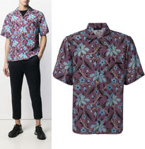 PRADA Flower Patterns Shirts