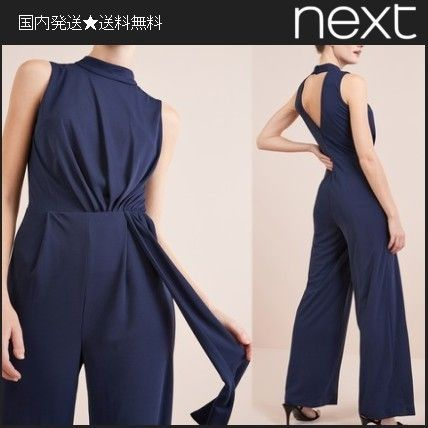 Dungarees Sleeveless Plain Long Party Style Dresses