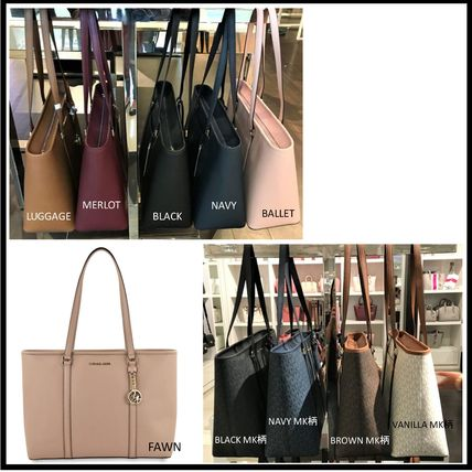 Saffiano A4 Plain Office Style Totes