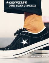 CONVERSE ALL STAR Star Unisex Suede Plain Sneakers