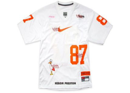 Heron Preston More T-Shirts Unisex Street Style Collaboration Oversized T-Shirts