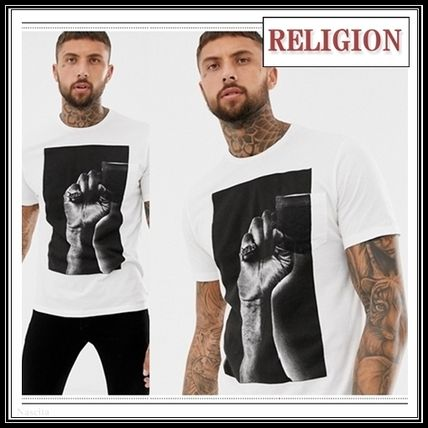 Crew Neck Pullovers Cotton Short Sleeves Crew Neck T-Shirts
