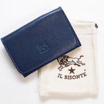 IL BISONTE Unisex Plain Leather Handmade Keychains & Bag Charms