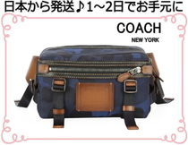 Coach Camouflage Unisex Hip Packs