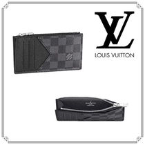 Louis Vuitton DAMIER GRAPHITE Coin Cases