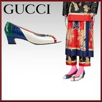 GUCCI Other Animal Patterns Leather Elegant Style