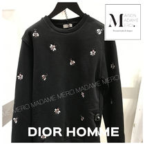 DIOR HOMME Long Sleeves Other Animal Patterns Cotton Hoodies d4eca0bf3f3