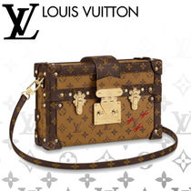 Louis Vuitton Monogram Casual Style 2WAY Leather Handmade Shoulder Bags