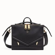 FENDI BAG BUGS Calfskin 2WAY Plain Messenger & Shoulder Bags