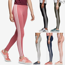 adidas Stripes Unisex Street Style Cotton Leggings Pants