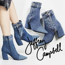 Jeffrey Campbell Enamel Plain Wedge Boots