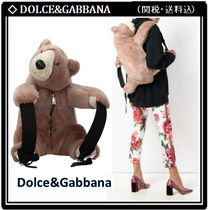 Dolce & Gabbana Casual Style Faux Fur Other Animal Patterns Backpacks