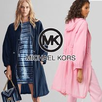Michael Kors Casual Style Plain Long Jackets