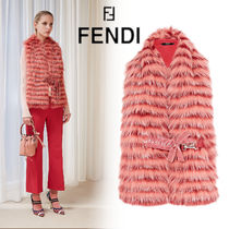 FENDI Plain Heavy Scarves & Shawls