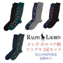 POLO RALPH LAUREN Plain Cotton Undershirts & Socks
