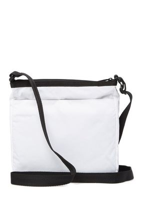 Nylon Plain Crossbody Shoulder Bags
