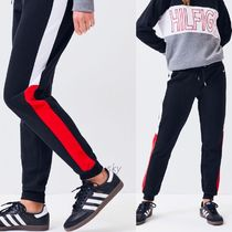 Tommy Hilfiger Stripes Sweat Street Style Sweatpants