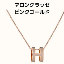 HERMES Unisex Elegant Style Necklaces & Pendants