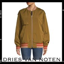 Dries Van Noten Stripes Plain Medium Varsity Jackets