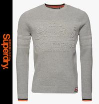 Superdry Crew Neck Pullovers Long Sleeves Knits & Sweaters