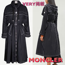 MONCLER Stand Collar Coats Casual Style Coats