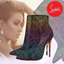 Christian Louboutin Pin Heels Elegant Style Ankle & Booties Boots