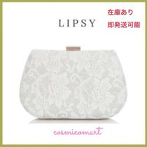 Lipsy Flower Patterns 2WAY Chain Plain Party Style Party Bags