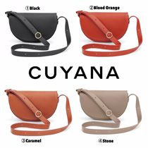 CUYANA Casual Style Plain Shoulder Bags