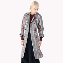 Tommy Hilfiger Other Check Patterns Long Chester Coats