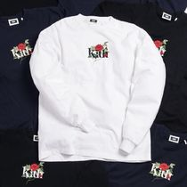 KITH NYC Crew Neck Street Style Long Sleeves Cotton