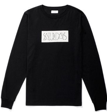 Unisex Street Style Long Sleeves Logos on the Sleeves