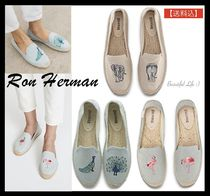Ron Herman Casual Style Plain Other Animal Patterns Sandals