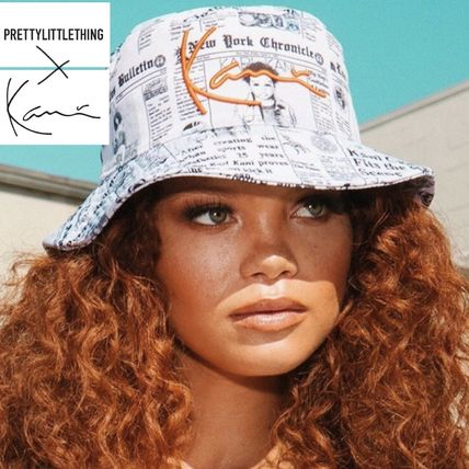 Street Style Bucket Hats Keychains & Bag Charms