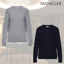 MONCLER Crew Neck Cashmere Long Sleeves Cashmere