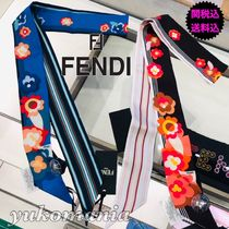 FENDI Silk Lightweight Scarves & Shawls