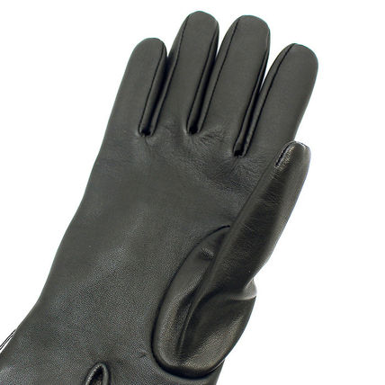 Coach Leather & Faux Leather Blended Fabrics Plain Leather Leather & Faux Leather Gloves 5