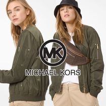 Michael Kors Plain Medium Varsity Jackets