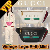 GUCCI Stripes Unisex 2WAY Leather Bags