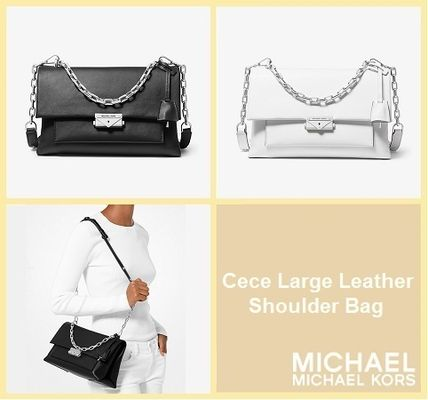 a7186318cd9de3 ... Michael Kors Shoulder Bags 【SALE】Cece Large Leather Shoulder Bag ...