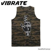VIBRATE Camouflage Cotton Tanks