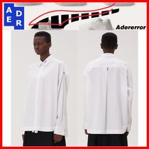 ADERERROR Casual Style Street Style Cotton Shirts & Blouses