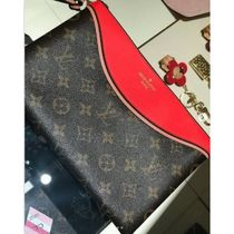 Louis Vuitton TUILERIES Monogram Unisex Canvas Blended Fabrics Bi-color