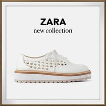 ZARA Casual Style Loafer Pumps & Mules