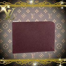 Louis Vuitton TAURILLON Leather Clutches