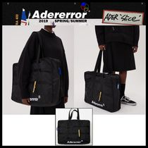 ADERERROR Street Style Totes