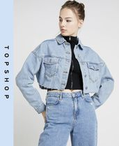 TOPSHOP Casual Style Denim Jackets