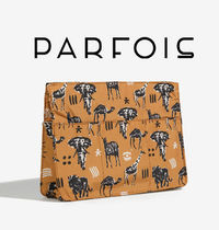 PARFOIS Nylon Other Animal Patterns Pouches & Cosmetic Bags