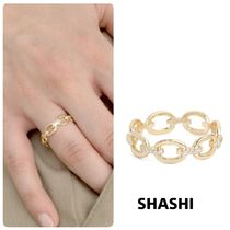 Ron Herman Casual Style Chain 18K Gold Rings