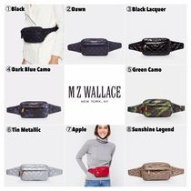 MZ WALLACE Casual Style Unisex Nylon Shoulder Bags